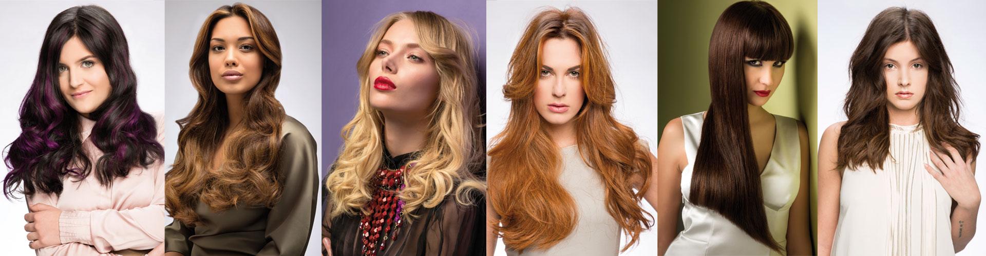 Extensions per capelli prima e dopo