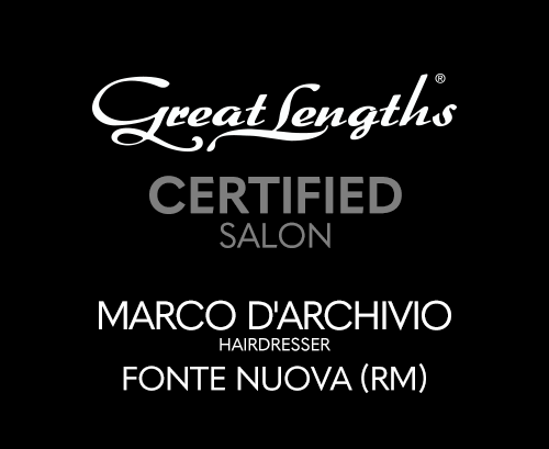 Marco D'Archivio Hairdresser | Extensions Great Lengths a Fonte Nuova