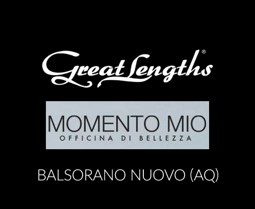 Momento Mio | Extensions Great Lengths a Balsorano Nuovo AQ